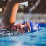 How healthy is the air you're breathing around the swimming pool?
